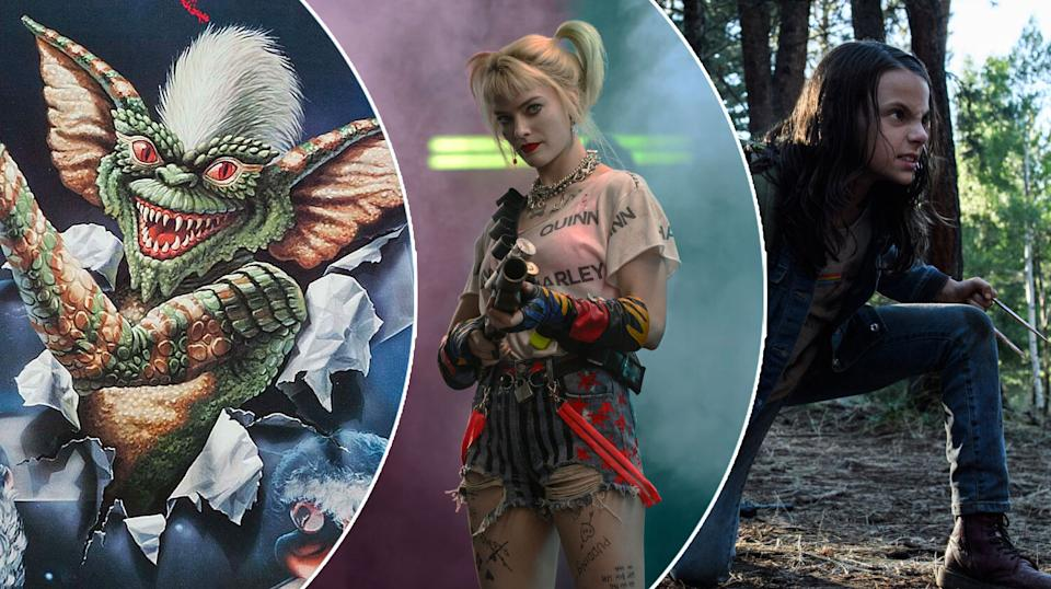 Gremlins on Blu-ray, Birds of Prey for a fiver, and Logan on 4K (WB/Fox)