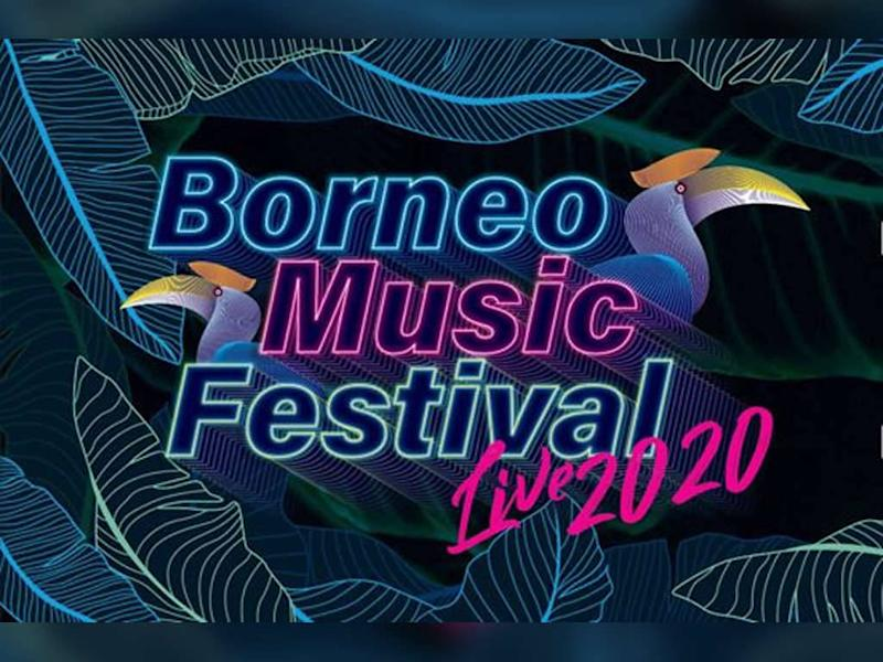 Borneo Music Festival Live 2020 was originally planned to be held next month.