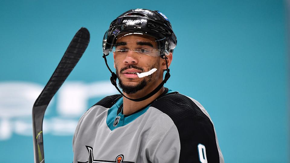 Evander Kane has been embroiled in a tumultuous offseason. (Photo by Brandon Magnus/NHLI via Getty Images)