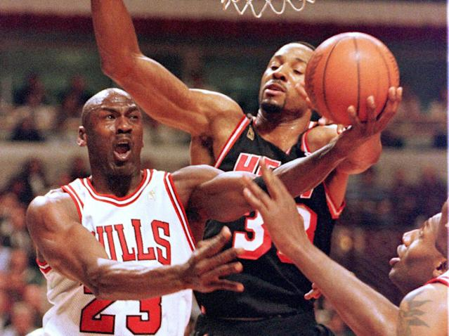 Alonzo Mourning faced Michael Jordan in the 1997 Eastern Conference finals and worked for the Miami Heat when LeBron James won two championships in South Beach. (Reuters)