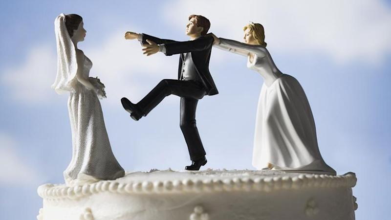 New study suggests people are more likely to stray not long after they get married. Source: Getty