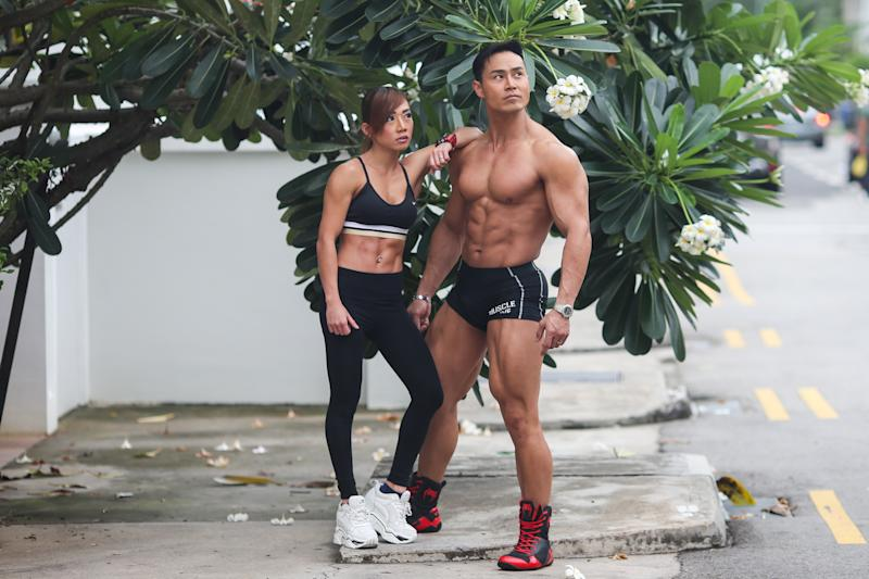 Singapore #Fitspo of the Week: Desmond Lee and Gladys Leong (PHOTO: Cheryl Tay)