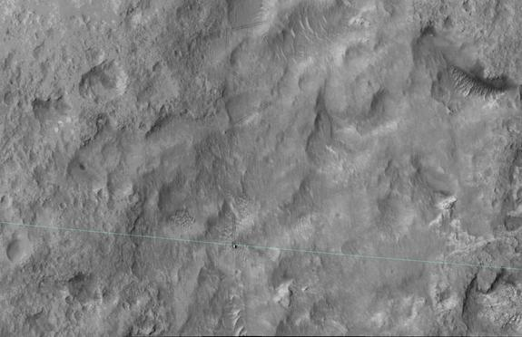 Curiosity Rover on Mars Leaves Landing 'Safe Zone'