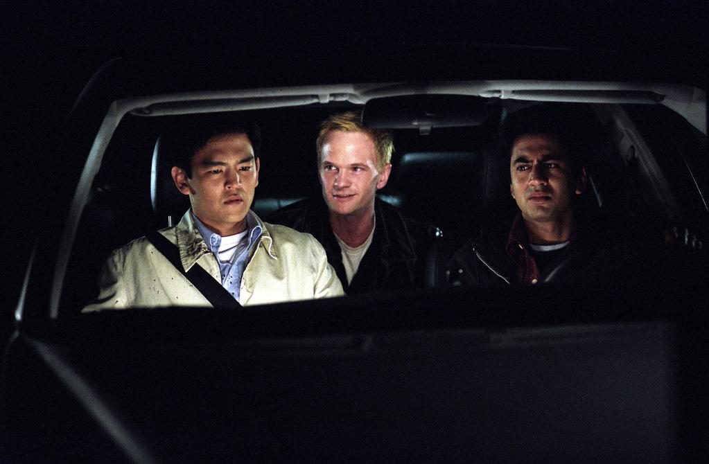 """<a href=""""http://movies.yahoo.com/movie/1808550999/info"""">HAROLD AND KUMAR GO TO WHITE CASTLE</a>   Starting Point: New York   Ending Point: A fast food franchise in the middle of Jersey.   Goal: To eat twenty or thirty of those delicious little square burgers.   Snags: Racist cops, racist extreme sports enthusiasts, Neil Patrick Harris."""