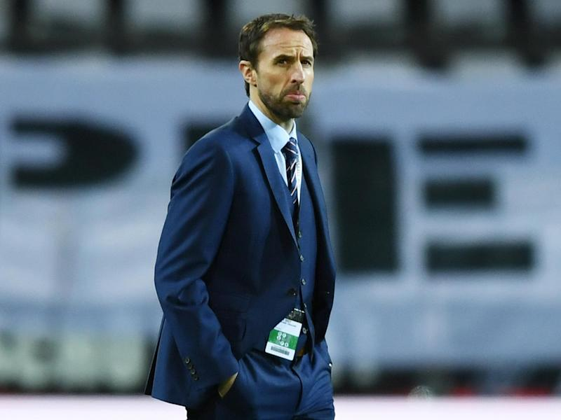 Southgate sent his thoughts to the families of those that have suffered as a result of the attack: Getty
