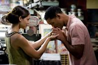 """<p><a class=""""link rapid-noclick-resp"""" href=""""https://www.popsugar.com/Will-Smith"""" rel=""""nofollow noopener"""" target=""""_blank"""" data-ylk=""""slk:Will Smith"""">Will Smith</a> plays a man willing to give his vital organs to those in need of a donor. After falling in love with a woman at risk of dying from a heart condition, it becomes apparent there is something else driving his mission to give. </p> <p>Watch <a href=""""https://www.netflix.com/title/70104313"""" class=""""link rapid-noclick-resp"""" rel=""""nofollow noopener"""" target=""""_blank"""" data-ylk=""""slk:Seven Pounds""""><strong>Seven Pounds</strong></a> on Netflix now.</p>"""