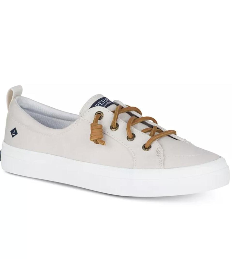 <p><span>Sperry Women's Crest Vibe Memory-Foam Lace-Up Fashion Sneakers</span> ($36, originally $60)</p>
