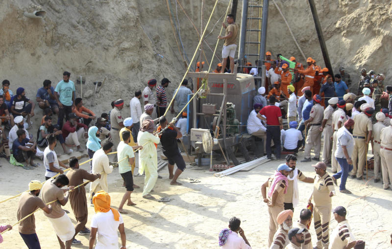 India Boy Trapped in Well