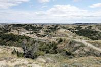 """<p>At an impressive 120 miles long, the <a href=""""https://www.tripadvisor.com/Attraction_Review-g60973-d325192-Reviews-Maah_Daah_Hey_Trail-Medora_North_Dakota.html"""" rel=""""nofollow noopener"""" target=""""_blank"""" data-ylk=""""slk:Maah Daah Hey Trail"""" class=""""link rapid-noclick-resp"""">Maah Daah Hey Trail</a> will take you right through the Dakota Prairie Grasslands. We can pretty much guarantee that you'll see wildlife during your trek, including antelope, bighorn sheep, and prairie dogs.</p><p><br><a class=""""link rapid-noclick-resp"""" href=""""https://go.redirectingat.com?id=74968X1596630&url=https%3A%2F%2Fwww.tripadvisor.com%2FAttraction_Review-g60973-d325192-Reviews-Maah_Daah_Hey_Trail-Medora_North_Dakota.html&sref=https%3A%2F%2Fwww.countryliving.com%2Flife%2Ftravel%2Fg24487731%2Fbest-hikes-in-the-us%2F"""" rel=""""nofollow noopener"""" target=""""_blank"""" data-ylk=""""slk:PLAN YOUR HIKE"""">PLAN YOUR HIKE</a></p>"""