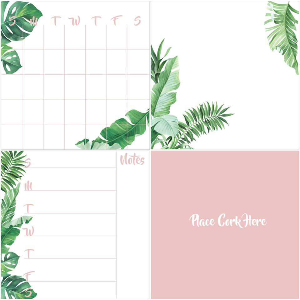 "<p>Keep yourself super organized with this <a href=""https://www.popsugar.com/buy/WallPops-Baja-Organization-Kit-476368?p_name=WallPops%20Baja%20Organization%20Kit&retailer=walmart.com&pid=476368&price=27&evar1=savvy%3Aus&evar9=46463248&evar98=https%3A%2F%2Fwww.popsugar.com%2Fsmart-living%2Fphoto-gallery%2F46463248%2Fimage%2F46463250%2FWallPops-Baja-Organization-Kit&list1=shopping%2Ccollege%2Cwalmart%2Cback%20to%20school%20shopping%2Cdorms&prop13=api&pdata=1"" rel=""nofollow"" data-shoppable-link=""1"" target=""_blank"" class=""ga-track"" data-ga-category=""Related"" data-ga-label=""https://www.walmart.com/ip/WallPops-Baja-Organization-Kit/869965980"" data-ga-action=""In-Line Links"">WallPops Baja Organization Kit</a> ($27). You can stick it on your walls, or any place where you'll always see it and be reminded of what you have to do that week.</p>"