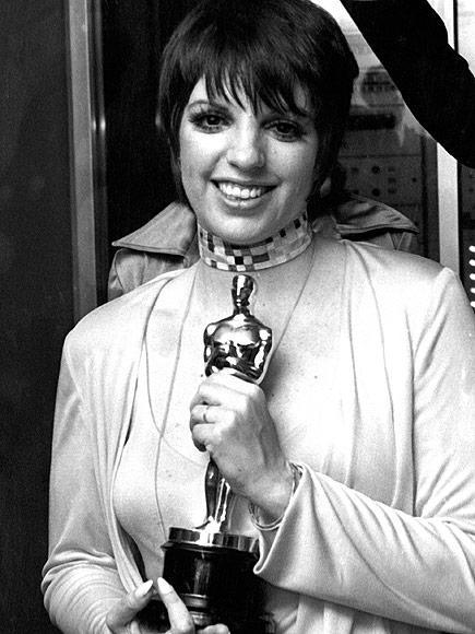 """<p>In 1973, Minnelli took home the <a href=""""https://www.youtube.com/watch?v=DFstpIKW7A4"""" rel=""""nofollow noopener"""" target=""""_blank"""" data-ylk=""""slk:Academy Award for Best Actress"""" class=""""link rapid-noclick-resp"""">Academy Award for Best Actress</a> for her role as Sally Bowles in <em>Cabaret. </em>She had previously been nominated in 1970 for her role in <em>The Sterile Cuckoo</em>. </p>"""