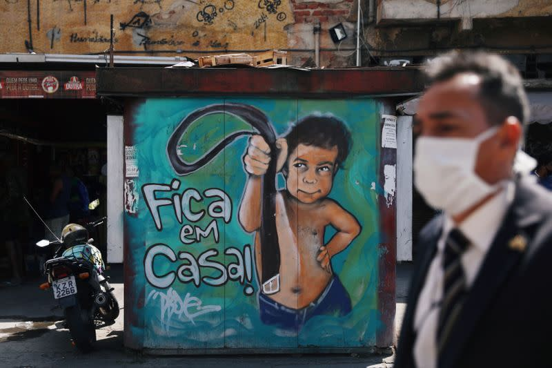 Brazil COVID-19 cases rise to almost 4 million, death toll 123,780 - ministry