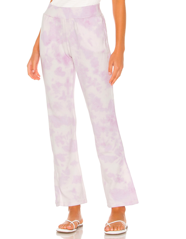 """Reach for these lilac tie-dye pants to complete your next scroll-stopping post that will put other <a href=""""https://www.glamour.com/story/picnic-essentials?mbid=synd_yahoo_rss"""" rel=""""nofollow noopener"""" target=""""_blank"""" data-ylk=""""slk:picnic vibes"""" class=""""link rapid-noclick-resp"""">picnic vibes</a> to shame. $98, Revolve. <a href=""""https://www.revolve.com/525-america-tie-dye-full-length-pants/dp/525A-WP6/"""" rel=""""nofollow noopener"""" target=""""_blank"""" data-ylk=""""slk:Get it now!"""" class=""""link rapid-noclick-resp"""">Get it now!</a>"""