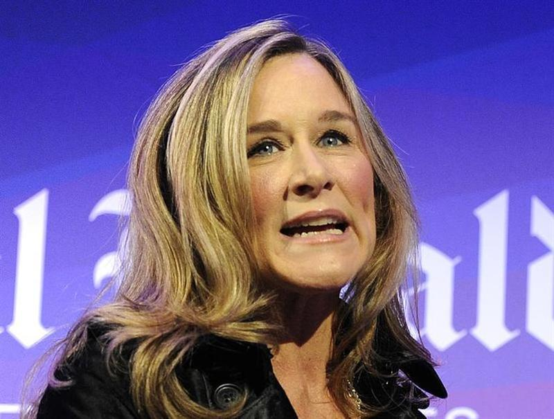 Burberry CEO Angela Ahrendts speaks at the IHT Heritage Luxury conference in London