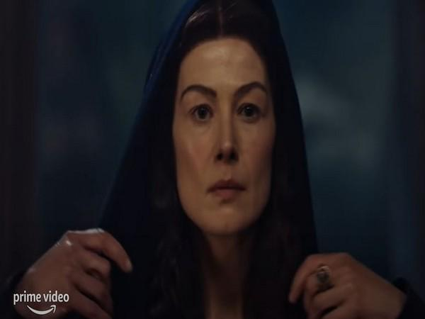 A still of Rosamund Pike from the trailer (Image source: You Tube)