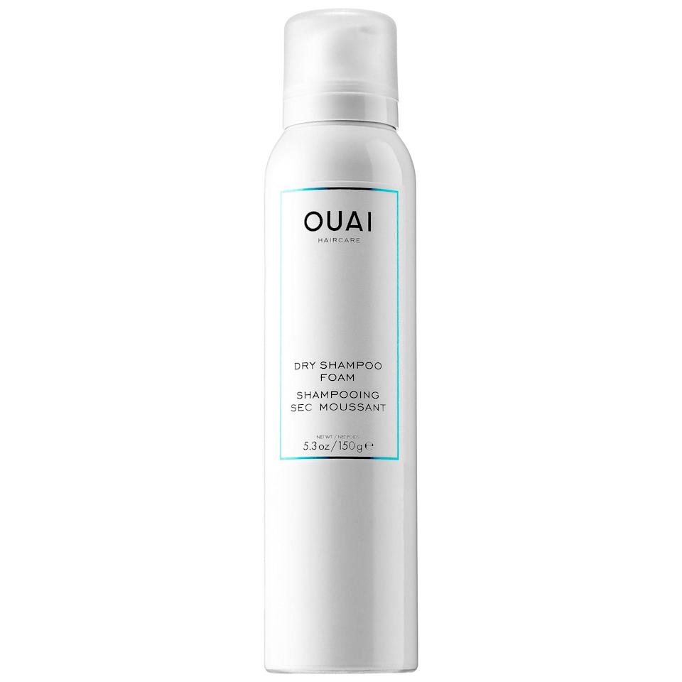 "<p>""I finally got my hands on Jen Atkin's <span>Ouai Dry Shampoo Foam</span> ($28), and it's the best product I've ever used. As someone with thin hair, I've never been a huge fan of dry shampoo because of the pesky white residue and I would rather wash my hair if it's dirty, but this product changed that. Not only does it smell delicious, but it also magically brought my hair back to life with softness and volume even after a few days of not washing."" - Perri Konecky, editor, Trending and Viral Features</p>"