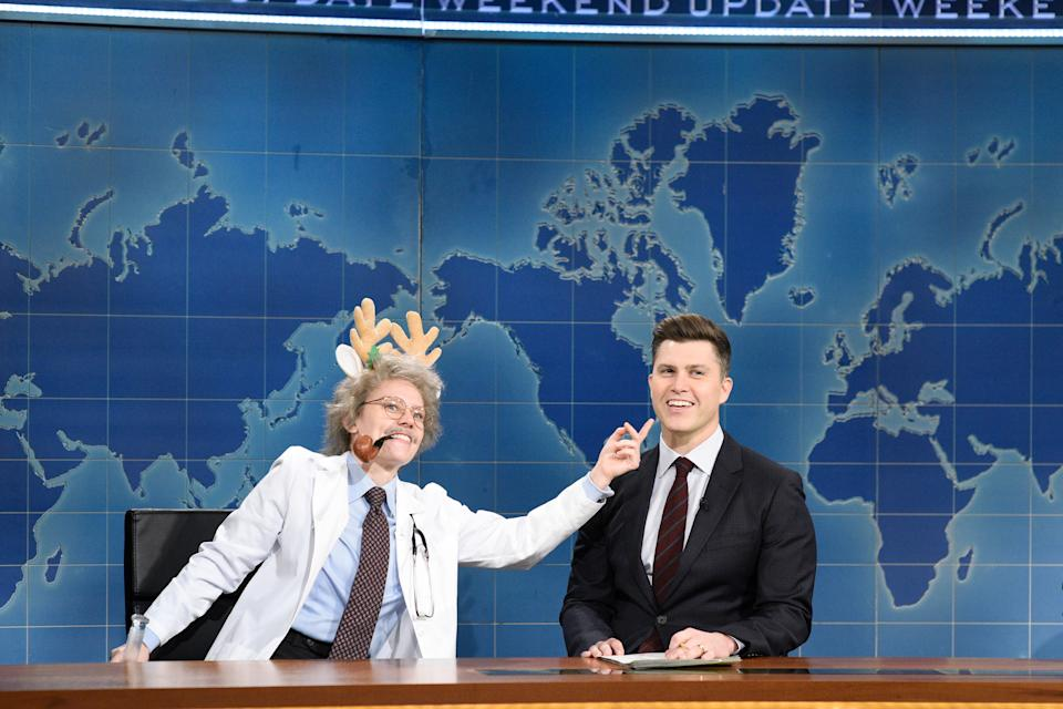 Colin Jost is part of the 'Saturday Night Live' team (Photo By: Will Heath/NBC/NBCU Photo Bank via Getty Images)