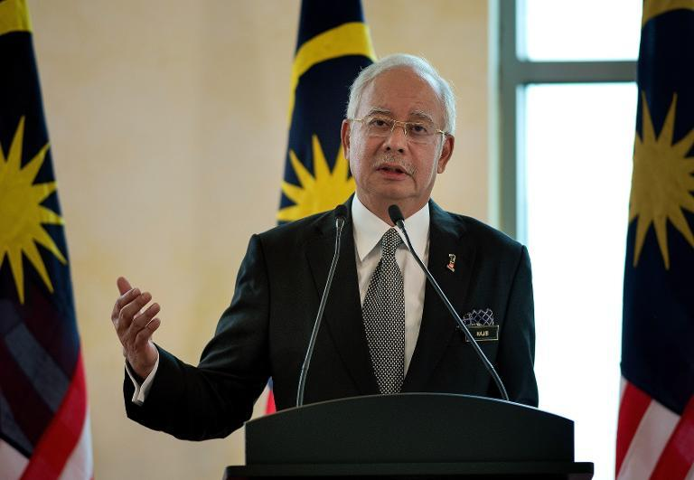 Malaysia's Prime Minister Najib Razak (pictured in February 2015 in Putrajaya) defended the tougher penalties for sedition -- which extend the maximum jail term to 20 years from three years