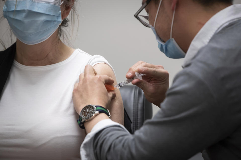 AstraZeneca vaccine has come under increasing pressure after reports it may cause blood clots in some recipients. Photo: Darryl Dyck/The Canadian Press via AP