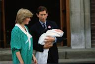"""<p><a href=""""https://www.townandcountrymag.com/society/tradition/news/g1387/vintage-photos-prince-william-prince-harry/"""" rel=""""nofollow noopener"""" target=""""_blank"""" data-ylk=""""slk:Prince William"""" class=""""link rapid-noclick-resp"""">Prince William</a> is born on June 21. <a href=""""https://www.townandcountrymag.com/society/tradition/g10352514/british-line-of-succession/"""" rel=""""nofollow noopener"""" target=""""_blank"""" data-ylk=""""slk:William is second in line"""" class=""""link rapid-noclick-resp"""">William is second in line</a> to the throne at the time of his birth, a position he still holds today. </p>"""