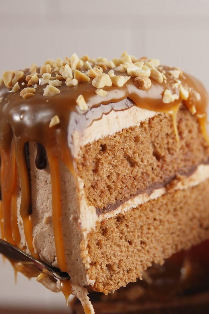 """<p>Fall lovers, have we got the cake for you.</p><p>Get the recipe from <a href=""""https://www.delish.com/cooking/recipe-ideas/recipes/a54959/caramel-apple-cake-recipe/"""" rel=""""nofollow noopener"""" target=""""_blank"""" data-ylk=""""slk:Delish"""" class=""""link rapid-noclick-resp"""">Delish</a>.</p>"""