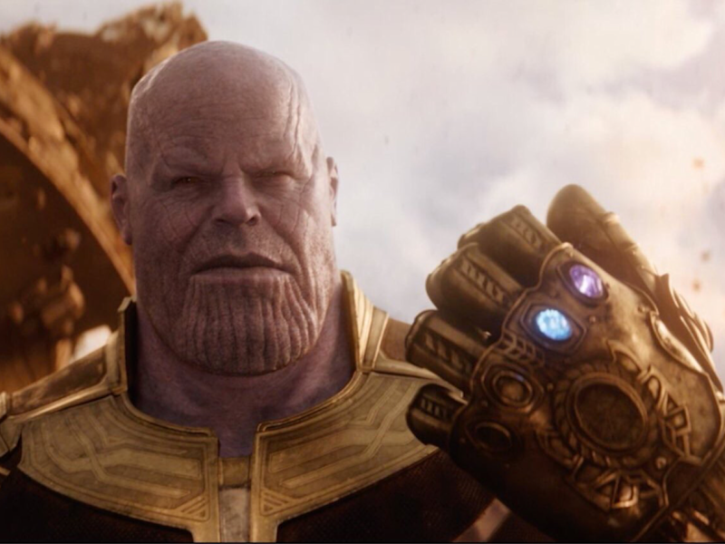 Launch your own Infinity War with Thanos's gauntlet