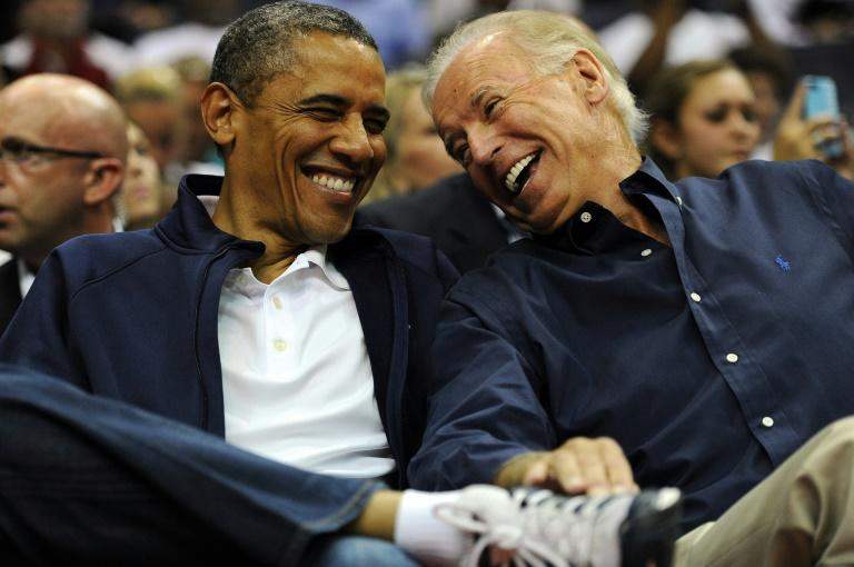Joe Biden served for eight years as vice president to Barack Obama (AFP Photo/Patrick Smith)