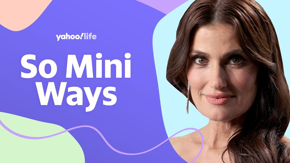 Idina Menzel opens up about her 12-year-old son, dealing with parenting stress and sharing sweet mom messages. (Photo: Getty; designed by Quinn Lemmers)