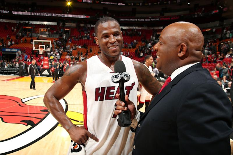 Dion Waiters and the Miami Heat have plenty of reasons to smile right now. (Getty Images)