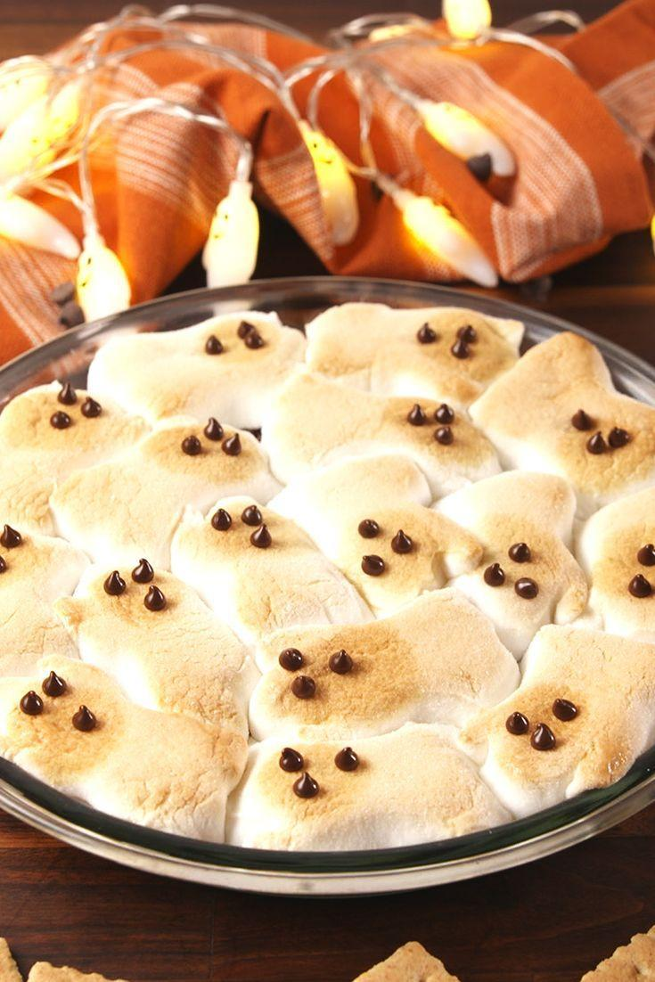 "<p>Even people who swear the only recipe they know is how to pour a mean bowl of cereal can tackle this treat.</p><p>Get the recipe from <a href=""https://www.delish.com/cooking/recipe-ideas/recipes/a55544/ghost-smores-recipe/"" rel=""nofollow noopener"" target=""_blank"" data-ylk=""slk:Delish"" class=""link rapid-noclick-resp"">Delish</a>.</p>"
