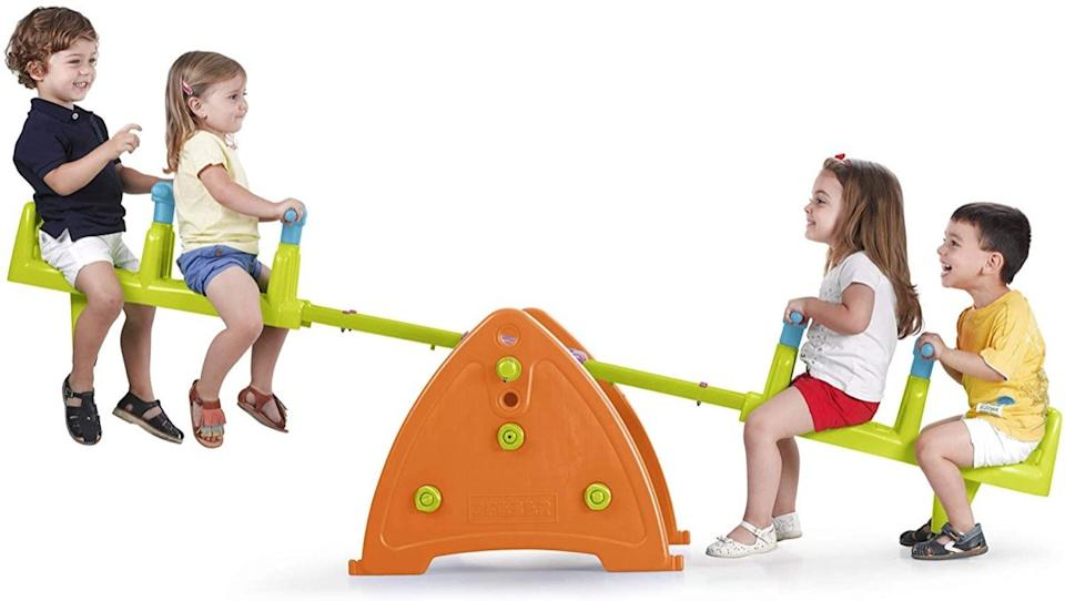Quad seesaw with kids