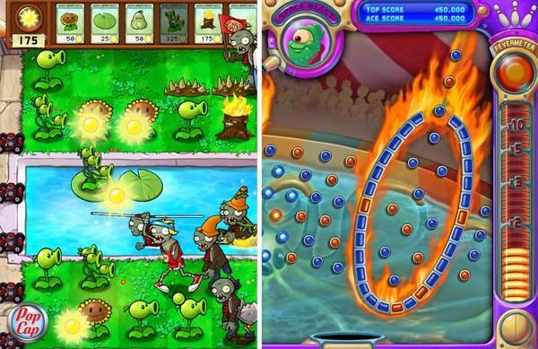plants vs zombies peggle facebook