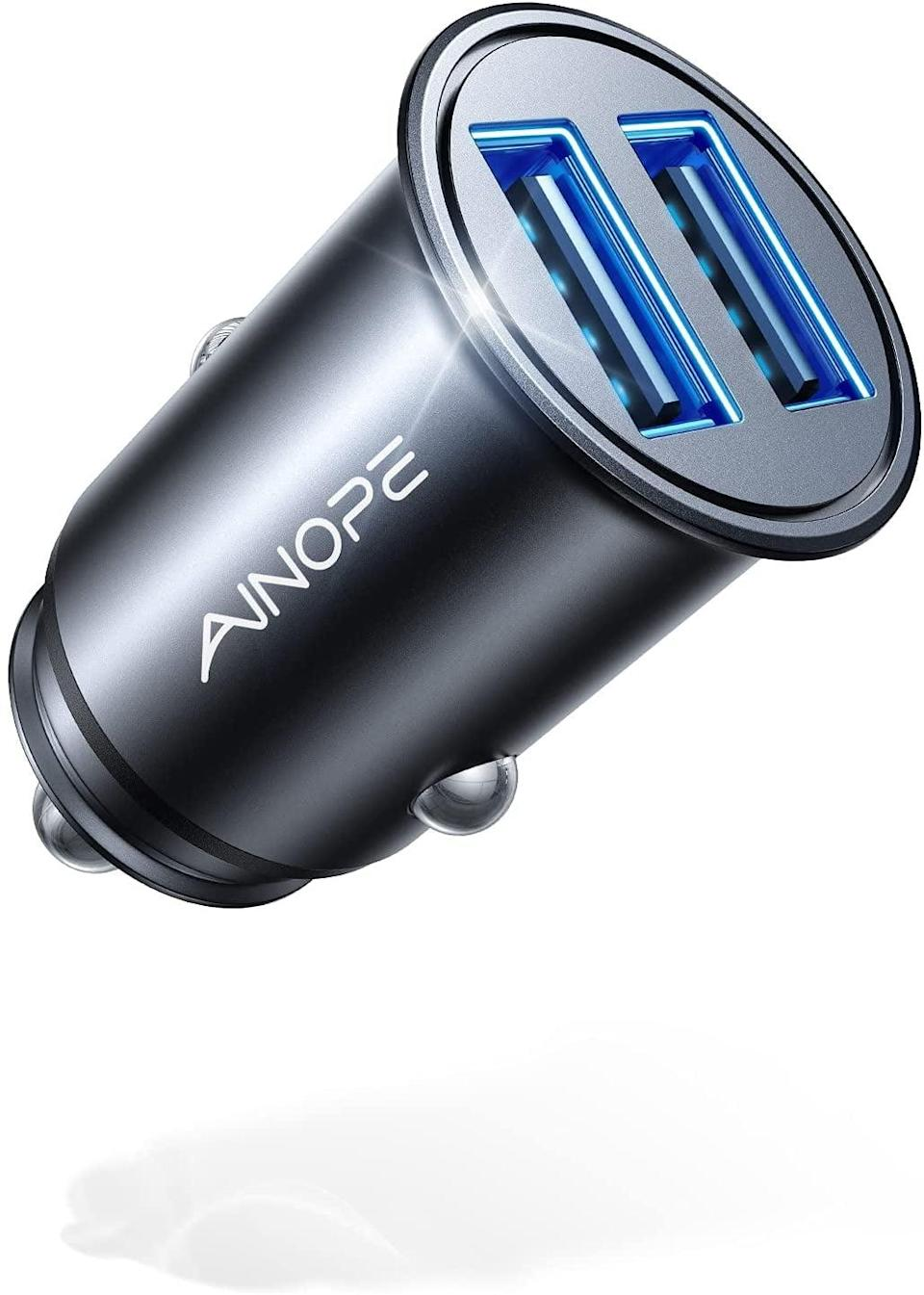 <p>You'll be glad you bought this <span>Ainope Car Charger</span> ($11). It's such a great investment!</p>