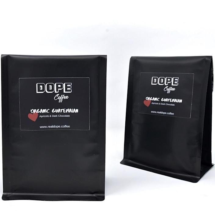 """<p><strong>Bagged Coffee Set, two 12-oz. bags</strong></p><p>realdope.coffee</p><p><strong>$31.00</strong></p><p><a href=""""https://www.realdope.coffee/collections/all-1/products/bagged-coffee-gift-set"""" rel=""""nofollow noopener"""" target=""""_blank"""" data-ylk=""""slk:BUY NOW"""" class=""""link rapid-noclick-resp"""">BUY NOW</a></p><p>Veteran-owned and Atlanta-based <a href=""""https://www.realdope.coffee/"""" rel=""""nofollow noopener"""" target=""""_blank"""" data-ylk=""""slk:Dope Coffee"""" class=""""link rapid-noclick-resp"""">Dope Coffee</a> sells four varieties of ground coffee blends. The beans top-shelf and fair-trade, and you'll find them in <a href=""""https://www.realdope.coffee/collections/all-1/products/kcups"""" rel=""""nofollow noopener"""" target=""""_blank"""" data-ylk=""""slk:K-Cup form"""" class=""""link rapid-noclick-resp"""">K-Cup form</a>, too. I gifted my mom two packs of Dope Coffee for Mother's Day and she's already asking for more. (Not a coffee drinker? You can still offer support by <a href=""""https://www.crowdfundmainstreet.com/campaigns/994plmki"""" rel=""""nofollow noopener"""" target=""""_blank"""" data-ylk=""""slk:investing in the company"""" class=""""link rapid-noclick-resp"""">investing in the company</a>.)</p>"""