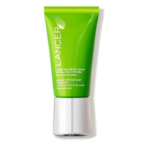 <p>The <span>Lancer Skincare Clarifying Detox Mask with Green Tea + 3% Sulfur </span> ($75) is perfect for acne-prone, textured skin.</p>
