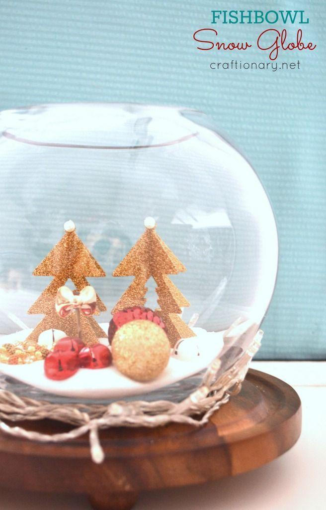 """<p>This wintry fish bowl snow globe would make an adorable <a href=""""https://www.countryliving.com/diy-crafts/g644/christmas-tables-1208/"""" rel=""""nofollow noopener"""" target=""""_blank"""" data-ylk=""""slk:Christmas dinner centerpiece"""" class=""""link rapid-noclick-resp"""">Christmas dinner centerpiece</a>. </p><p><strong><strong>Get the tutorial at </strong><a href=""""http://www.craftionary.net/diy-fishbowl-snow-globe/"""" rel=""""nofollow noopener"""" target=""""_blank"""" data-ylk=""""slk:Craftionary"""" class=""""link rapid-noclick-resp"""">Craftionary</a>.</strong></p><p><a class=""""link rapid-noclick-resp"""" href=""""https://www.amazon.com/Koller-Products-1-5-Gallon-Fish-Bowl/dp/B008CA82PK/ref=sr_1_9?dchild=1&keywords=FISH+BOWL&qid=1603312490&sr=8-9&tag=syn-yahoo-20&ascsubtag=%5Bartid%7C10050.g.2832%5Bsrc%7Cyahoo-us"""" rel=""""nofollow noopener"""" target=""""_blank"""" data-ylk=""""slk:SHOP FISH BOWLS"""">SHOP FISH BOWLS</a></p>"""