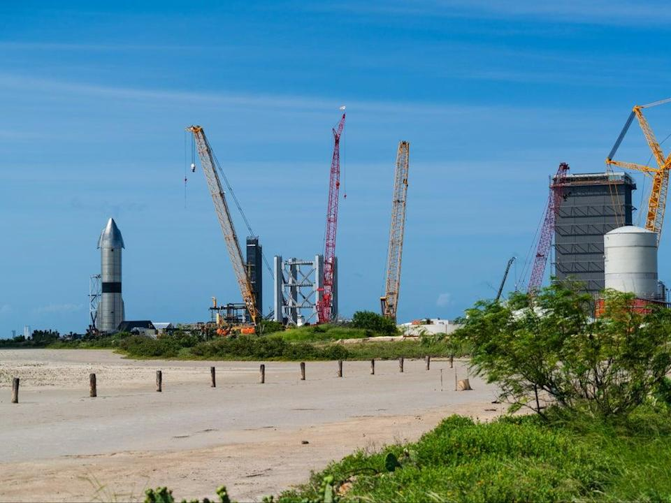 The SpaceX launch site at Boca Chica, Texas (Shutterstock / Roschetzky Photography)