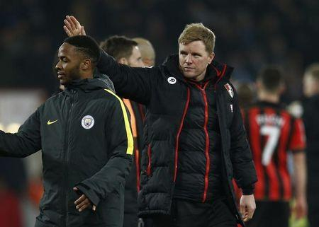 Bournemouth manager Eddie Howe after the game