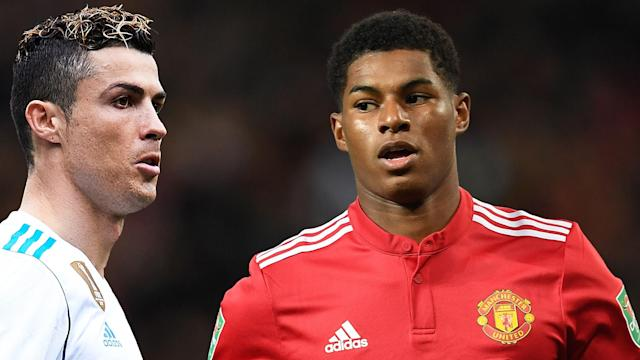 A current Man Utd forward is hoping to emulate an Old Trafford icon of the past, with the best in the world showing what can be achieved
