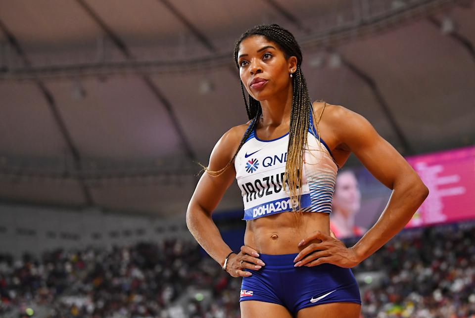 Britain's Abigail Irozuru finished seventh at the 2019 World Athletics Championships in Doha REUTERS/Dylan Martinez