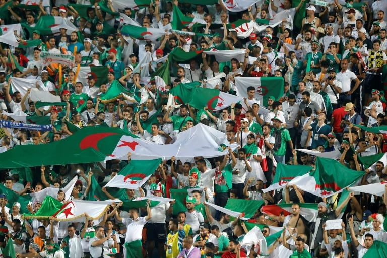 Thousands of Algeria fans have followed their country at this year's African Cup of Nations (AFP Photo/FADEL SENNA)