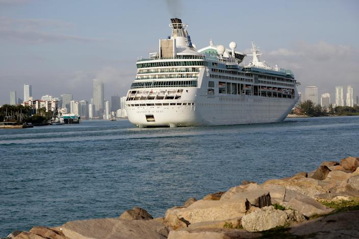 Royal Caribbean-Cruises (Copyright 2018 The Associated Press. All rights reserved.)