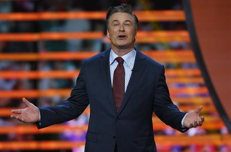 Host Alec Baldwin speaks during the NFL Honors award show in New Orleans