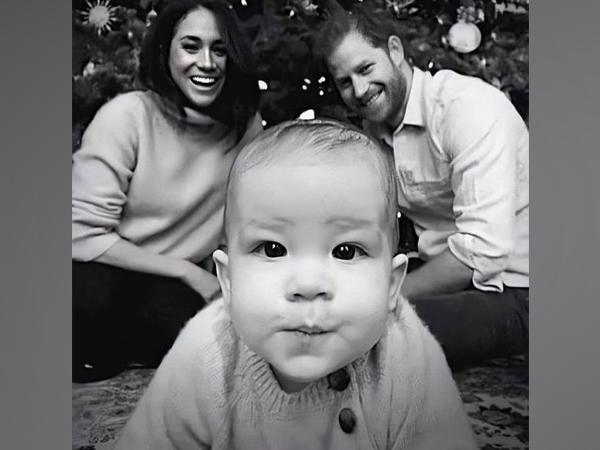 Prince Harry, Meghan Markle with their son Archie (Image Source: Instagram)