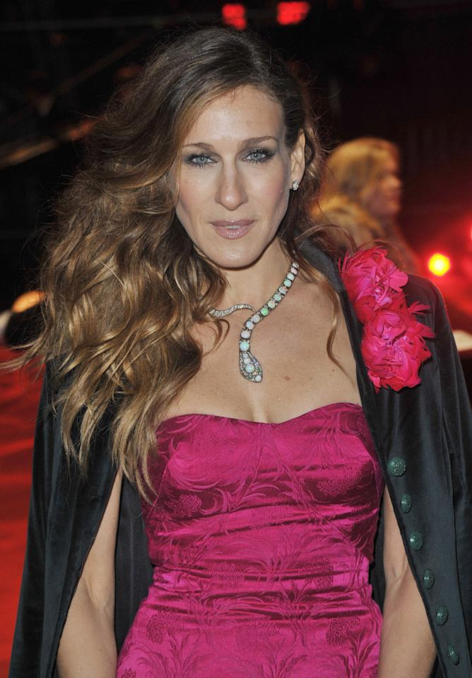 "<a href=""http://movies.yahoo.com/movie/contributor/1800016083"">Sarah Jessica Parker</a> at the London premiere of <a href=""http://movies.yahoo.com/movie/1810079689/info"">Did You Hear About the Morgans?</a> - 12/08/2009"