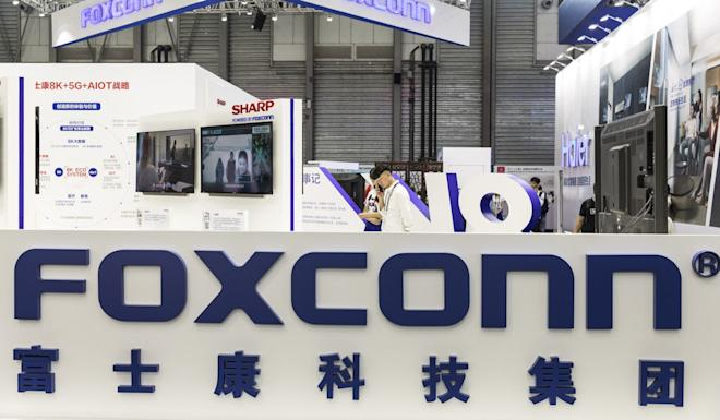 Foxconn has said that it could move electronics production bound for the US market out of the mainland. Photo: Bloomberg