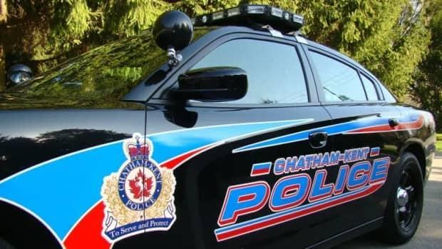 Chatham-Kent police say a 42-year-old woman died after being struck by a train on Sunday night. (Chatham-Kent Police Service - image credit)