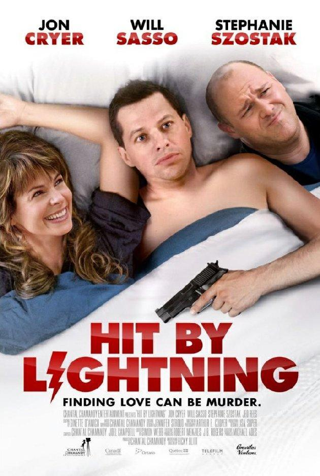 The poster for Hit By Lightning.
