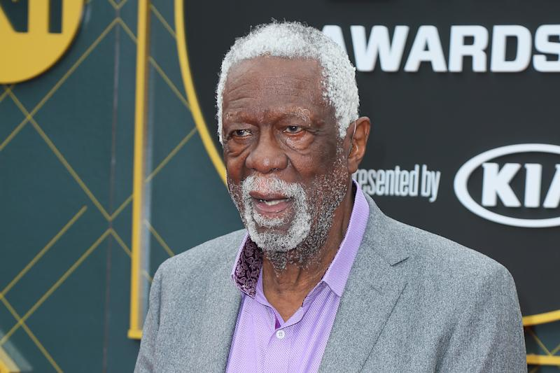 After boycotting for more than four decades because he felt he didn't deserve to be the first black player inducted into the Hall of Fame, Bill Russell finally has his ring.