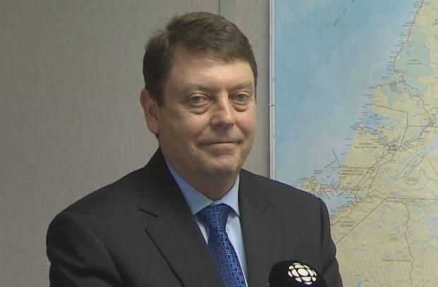A PC motion called for Bruce Chaulk, the chief electoral officer with Elections NL, to be suspended during an investigation into 'what went wrong' during the spring election in Newfoundland and Labrador.  (Mike Simms/CBC - image credit)